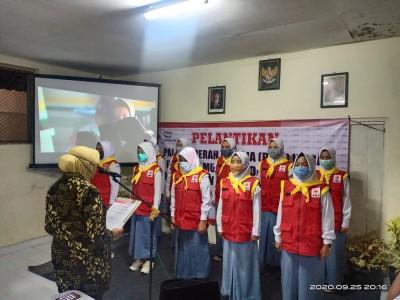 Pelantikan PMR WIRA di SMK Muhammadiyah 2 Turi Tahun 2020