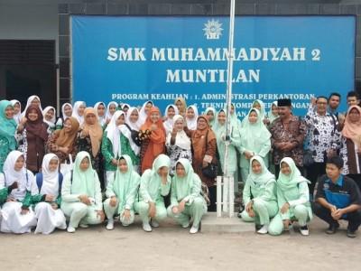 Study Banding Produk Kreatif Kewirausahaan ke SMK Muhammadiyah 2 Muntilan (2019)
